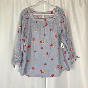 New with tags Old Navy XXL 3/4 sleeve blouse